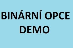 binární opce demo