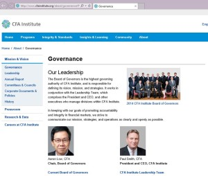 Nezávislý investor a Finance Institute