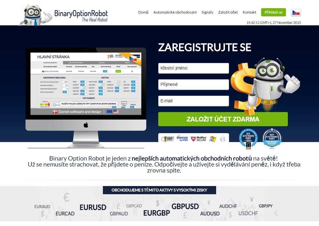 Binary options cz