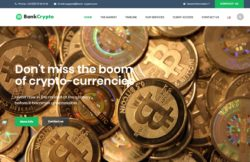 Bank Crypto web