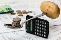 Snížení průměrny ceny kryptoměny