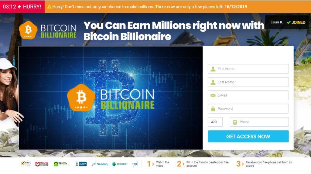 Bitcoin Billionaire recenze