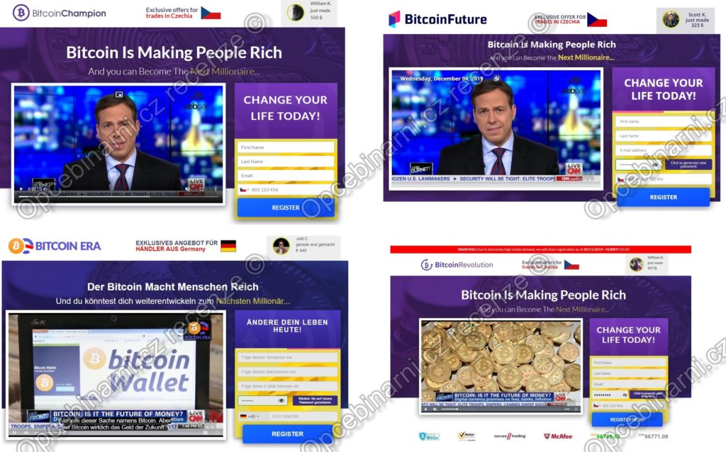 Bitcoin Champion je podvod