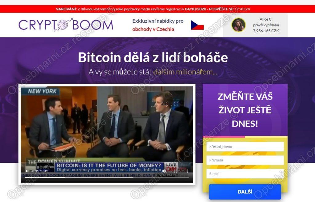 Crypto Boom recenze