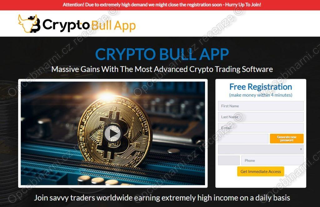 Crypto Bull App recenze