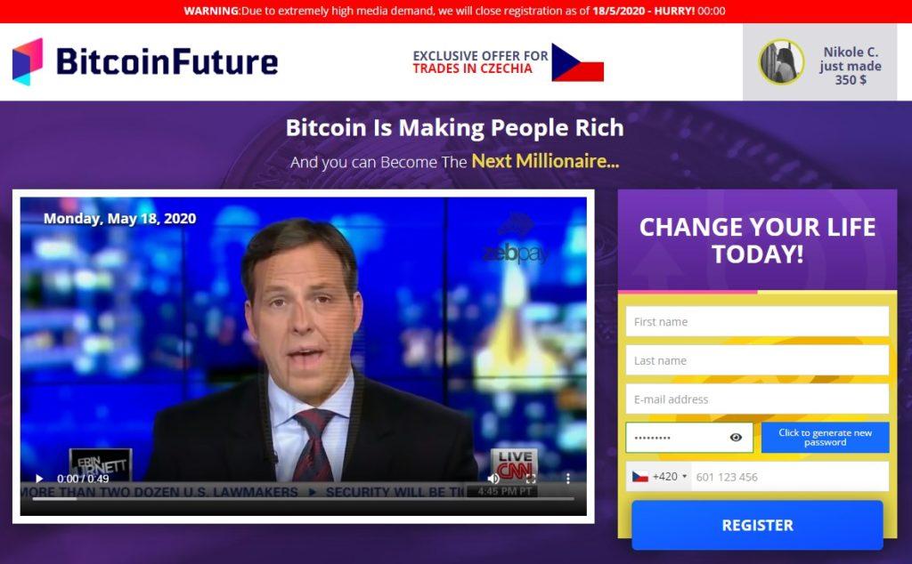 Bitcoin Future Test
