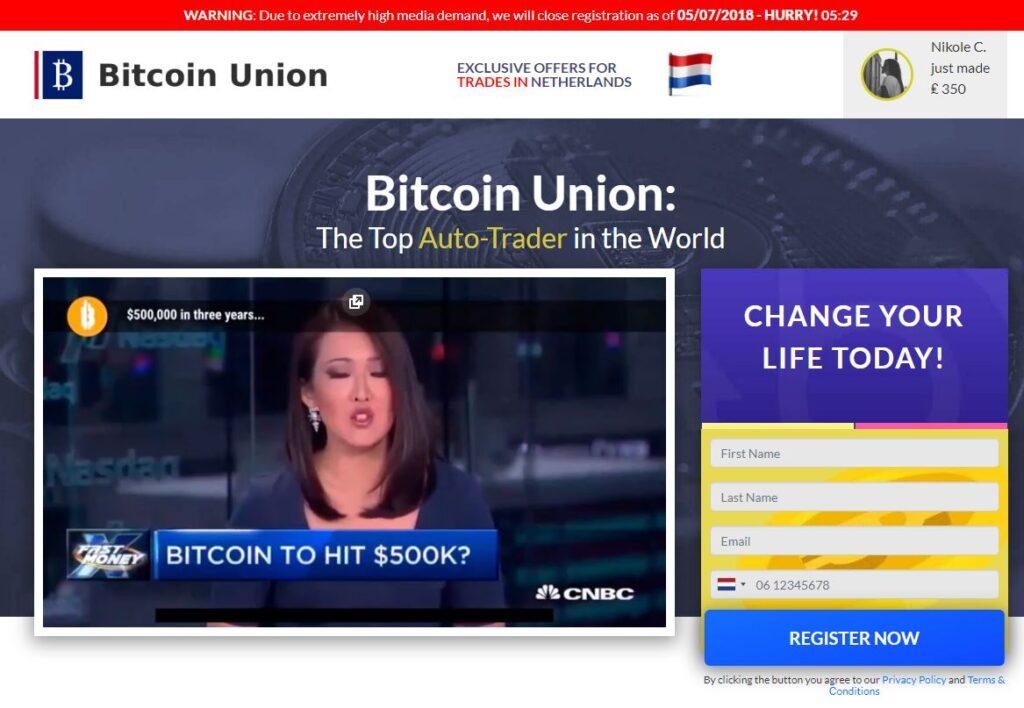 Recenze Bitcoin Union
