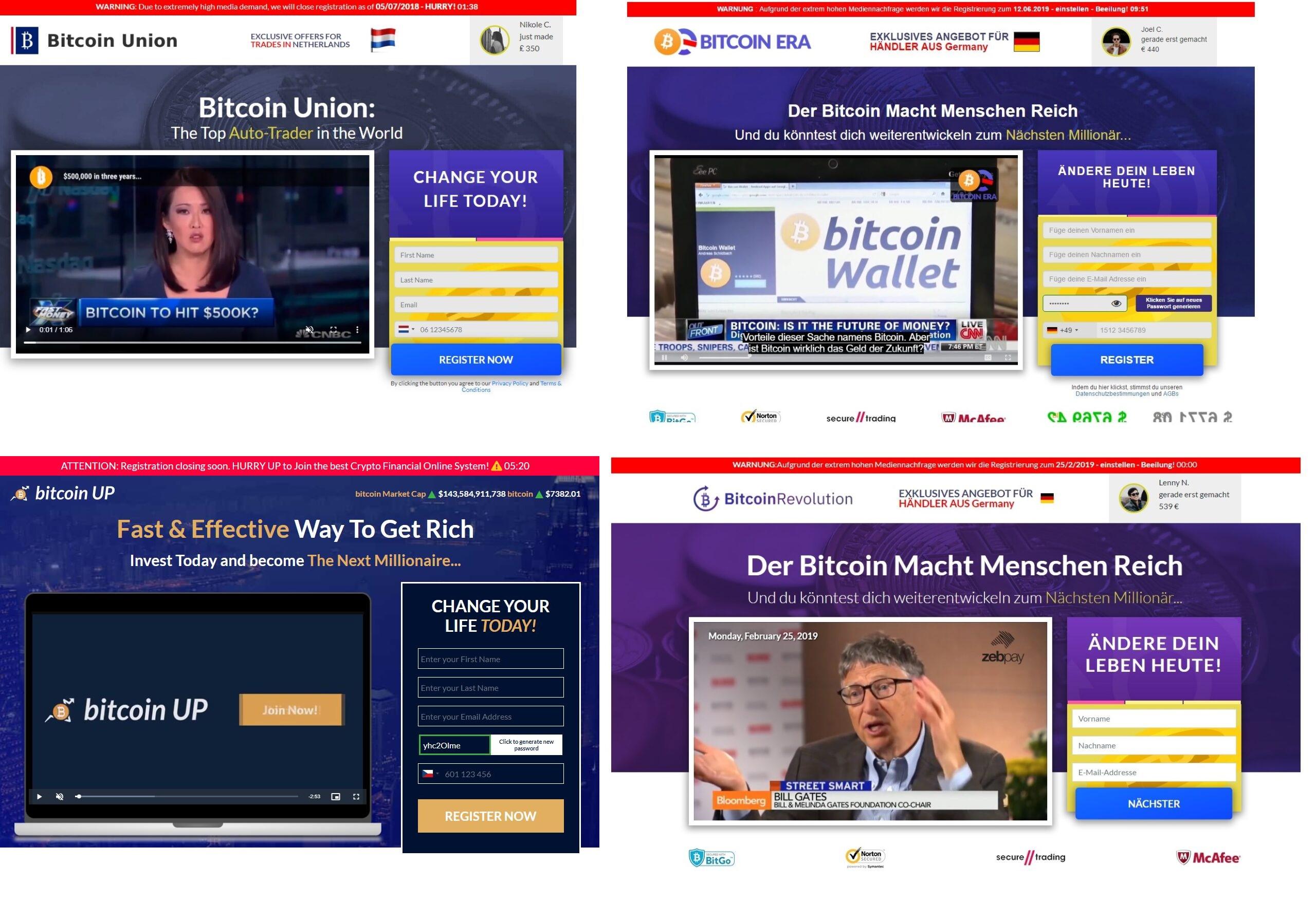 Podvod Bitcoin UP