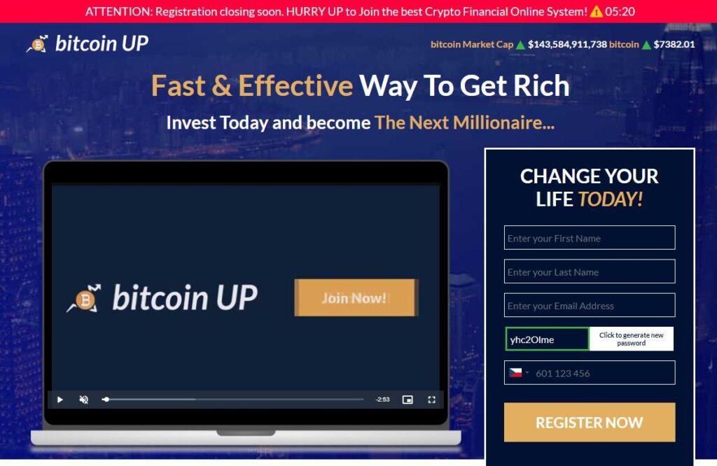 Bitcoin UP recenze
