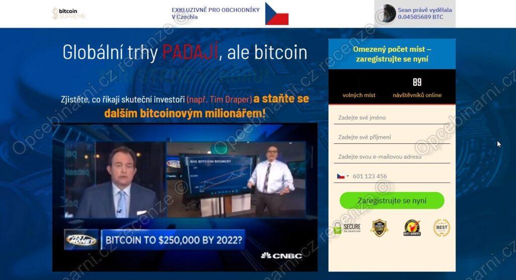 Bitcoin Supreme Recenze