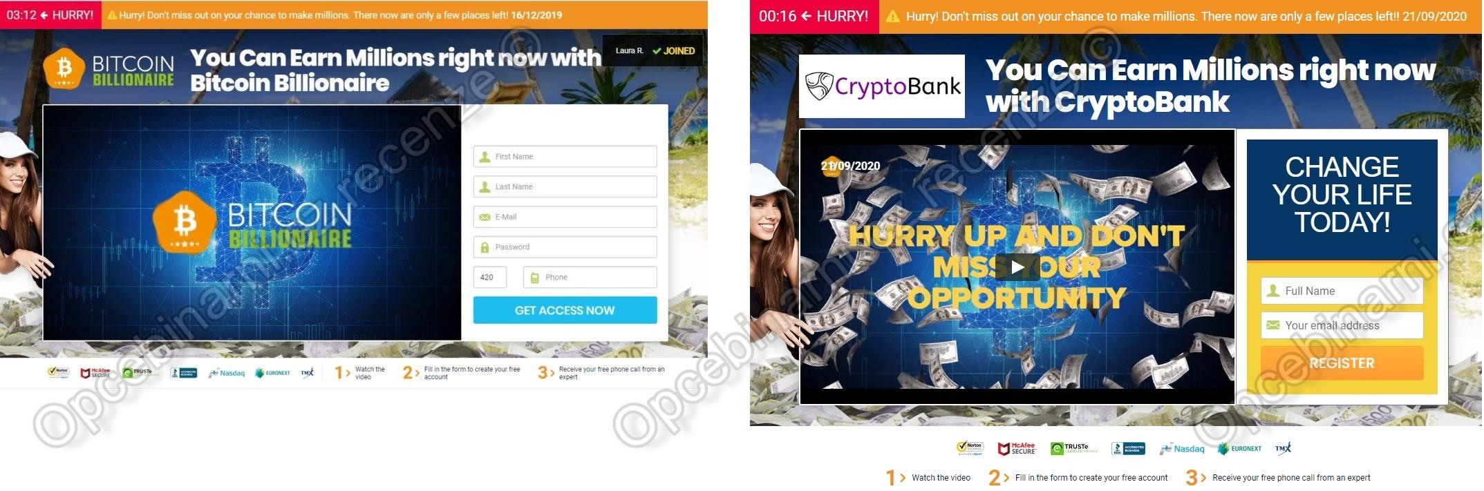 Podvod CryptoBank