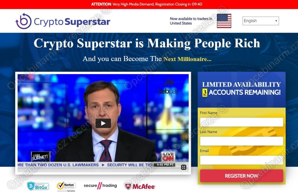 Recenze Crypto SuperStar
