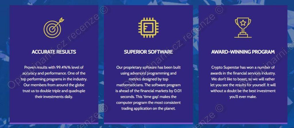 Údajné vlastnosti systému