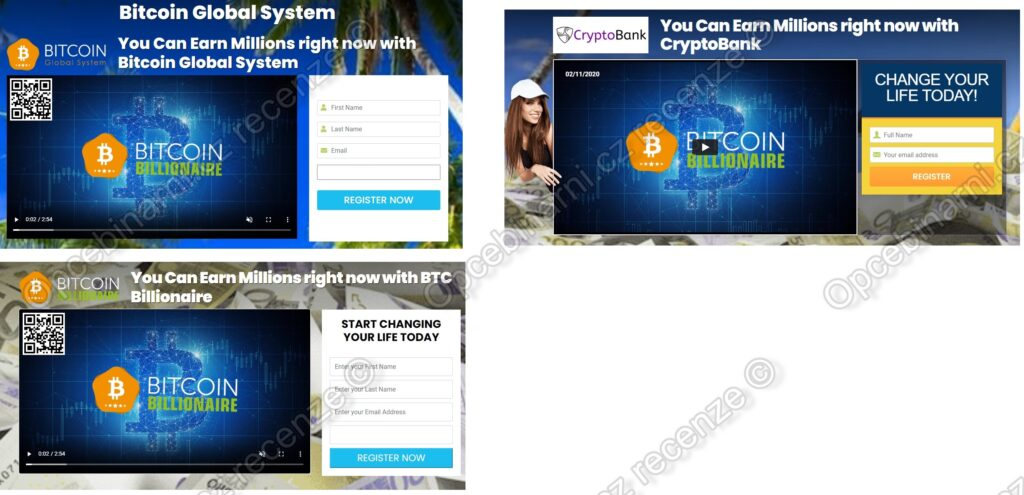 Podvod Bitcoin Global System