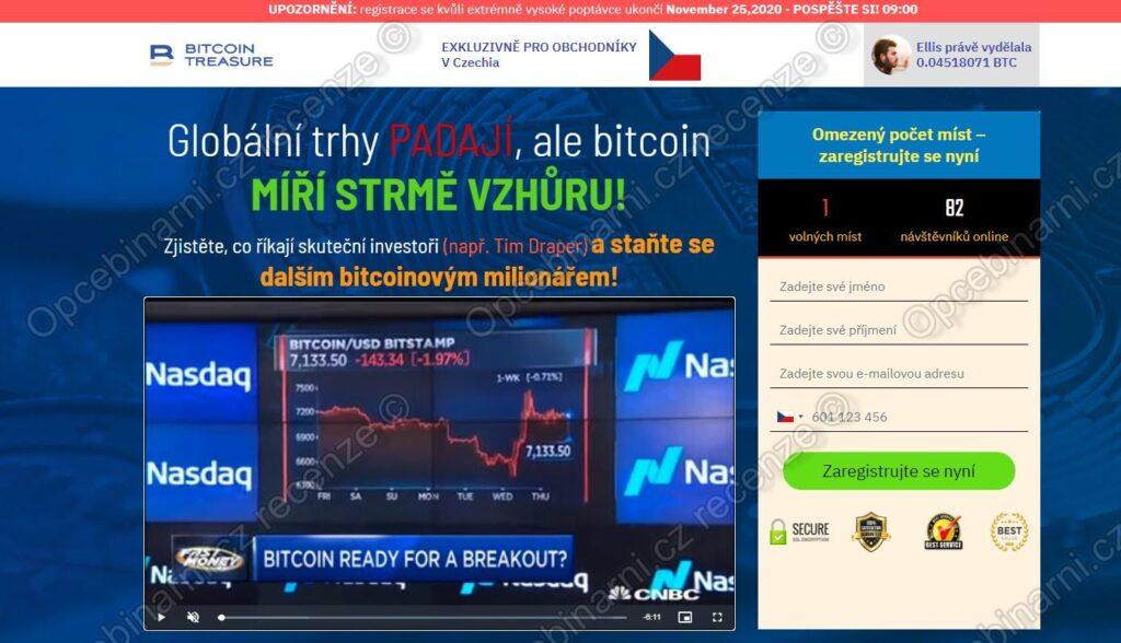 Recenze Bitcoin Treasure