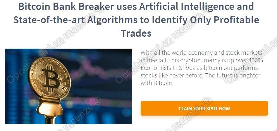 Bitcoin Bank Breaker podvod