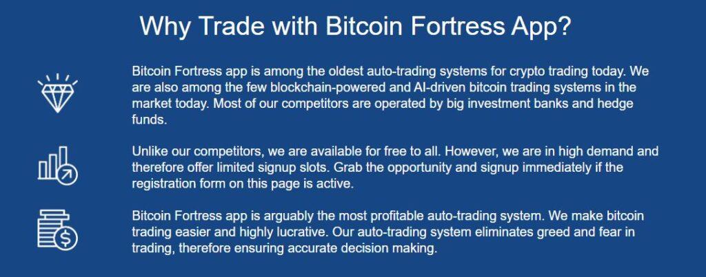 Podvod Bitcoin Fortress